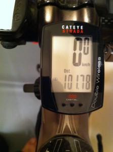 100km初チャレンジの時は心拍計無しでした。ロングライドするなら心拍計あったほうが断然いいですよ