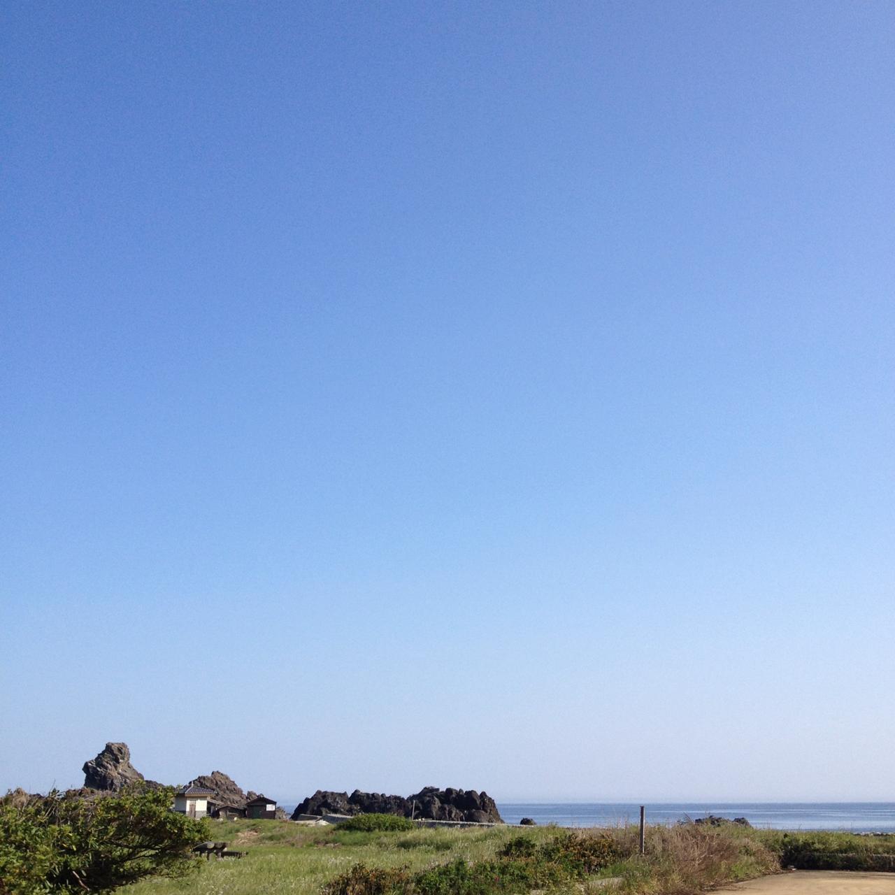 相川ASからの景色