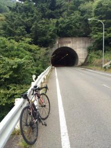 新雛鶴トンネル。「リニアモーターガール♪」って口ずさみながら到着