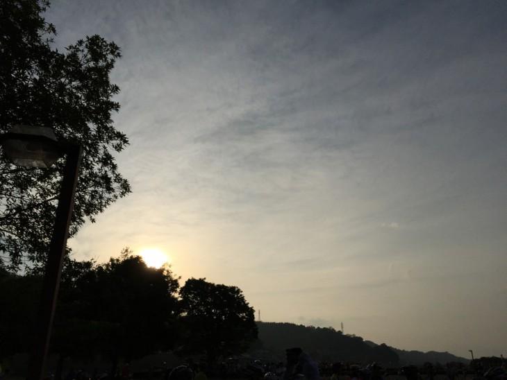 天気も良く朝から温かい日でした