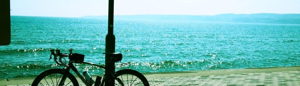 佐渡の海とSPECIALIZED ルーベ