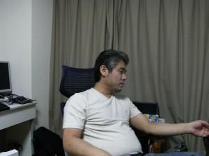 体重84kg当時の写真